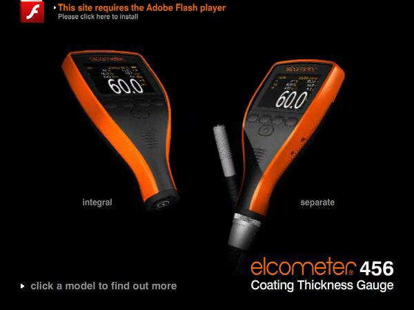 Elcometer 456 - the coating thickness gauge